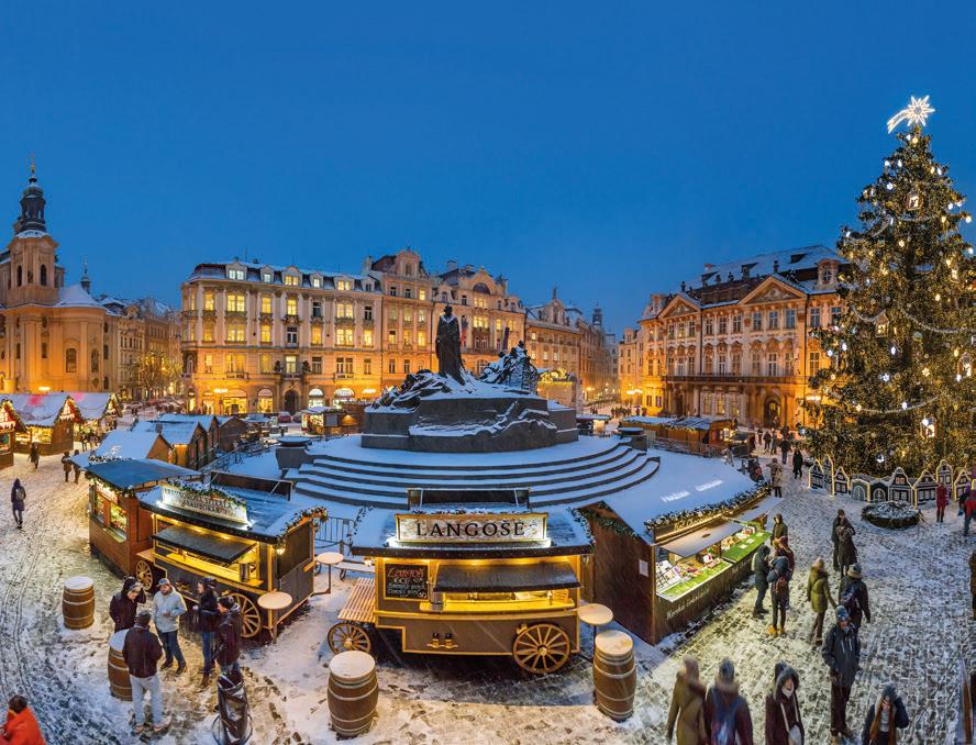 Adventtimatka Prahaan ja Dresdeniin