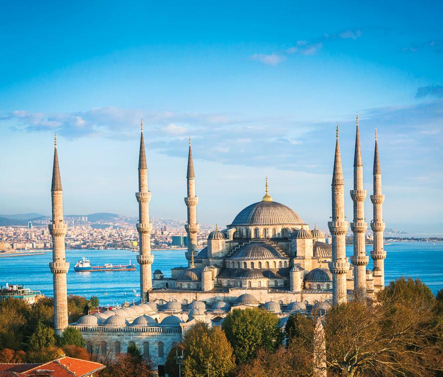 Historiaa, taidetta ja tulppaaneja Istanbulissa