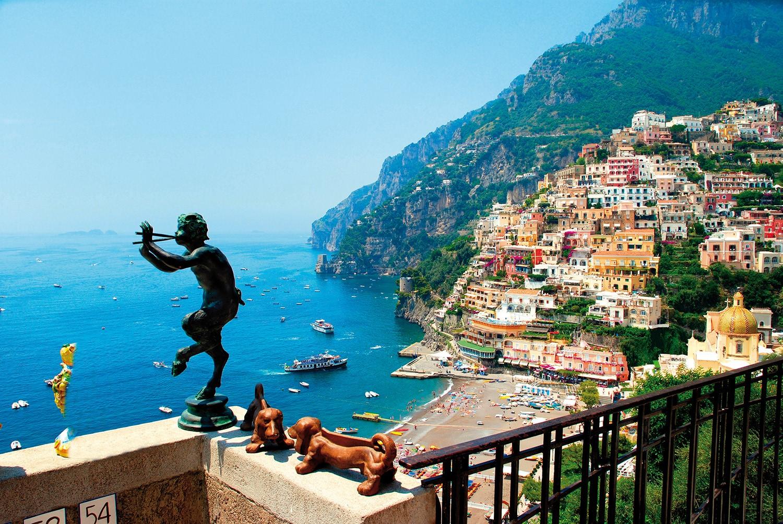 Capri ja Italian kaunein rannikko