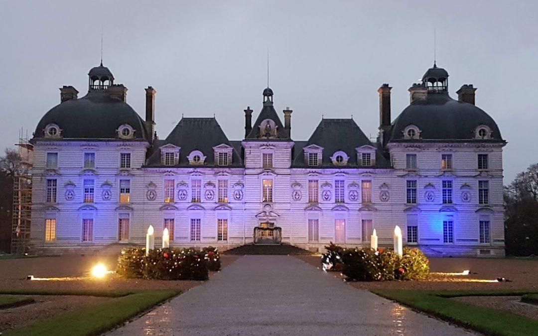 Joulutunnelmia Loiren laakson linnoissa ja Pariisissa
