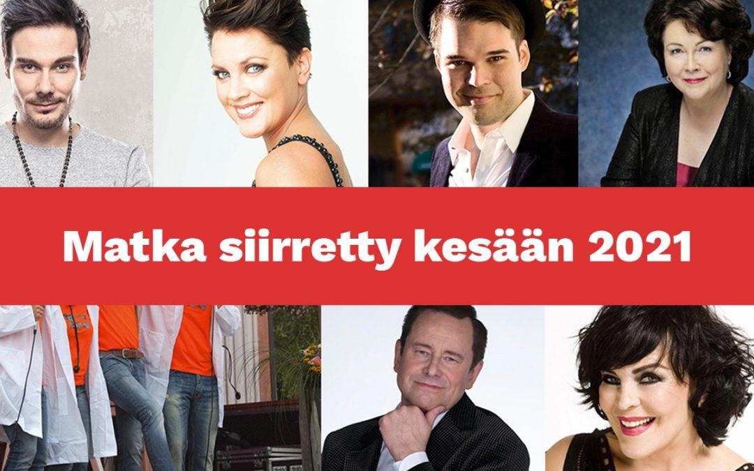 Juhlat Saarijärvellä ja Pylkönmäellä – Matka siirretty kesään 2021