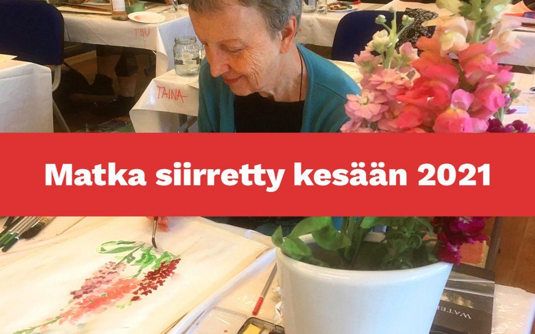 Akvarellimaalausta ja kylpylähoitoja Haapsalussa – Matka siirretty kesään 2021