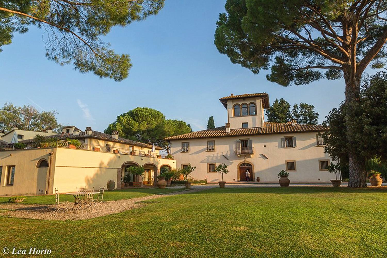 Joogaa Toscanassa