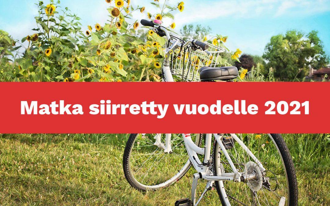 Kreetan pyöräilymatka – Matka siirretty vuodelle 2021
